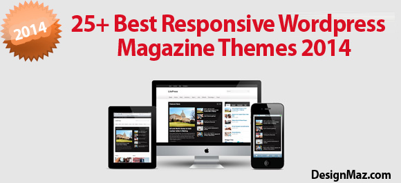 25+ Best Responsive WordPress Magazine Themes 2014