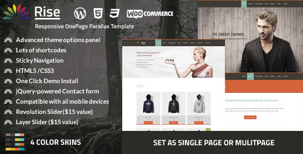 rise-onepage-responsive-parallax-theme