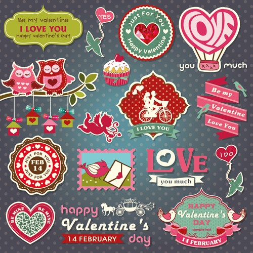romantic-valentine-retro-labels-and-decor-vector-01