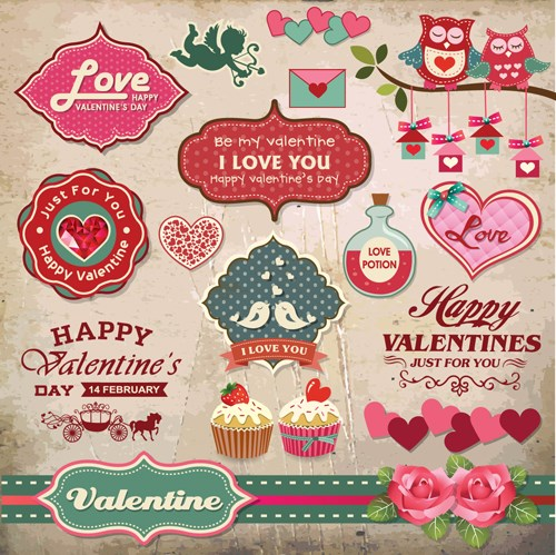 romantic-valentine-retro-labels-and-decor-vector-04