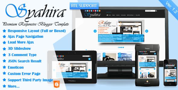 syahira-responsive-blogger-template