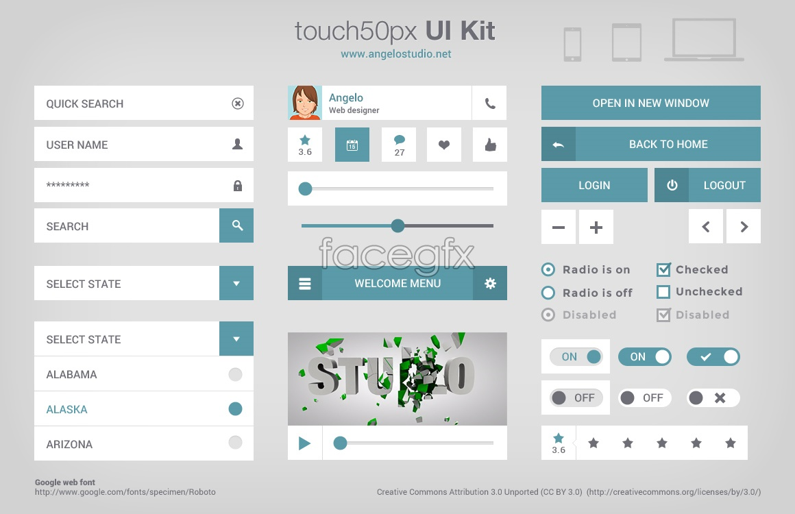 touch-50px-ui-kit
