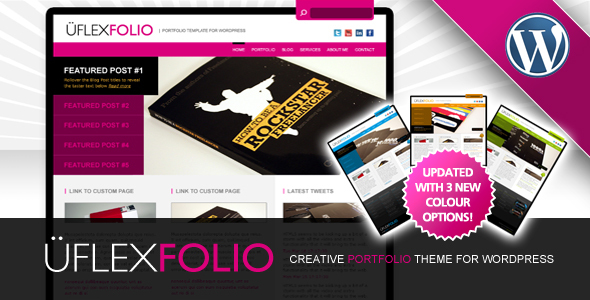 uFlexfolio - Portfolio Theme for WordPress