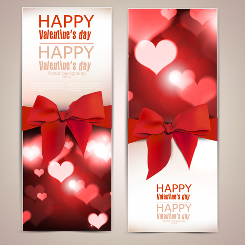 valentine-day-banners-and-bow-vector-01