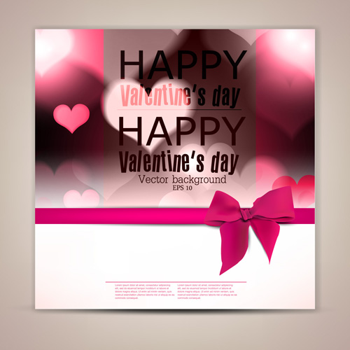 valentine-day-banners-and-bow-vector-03