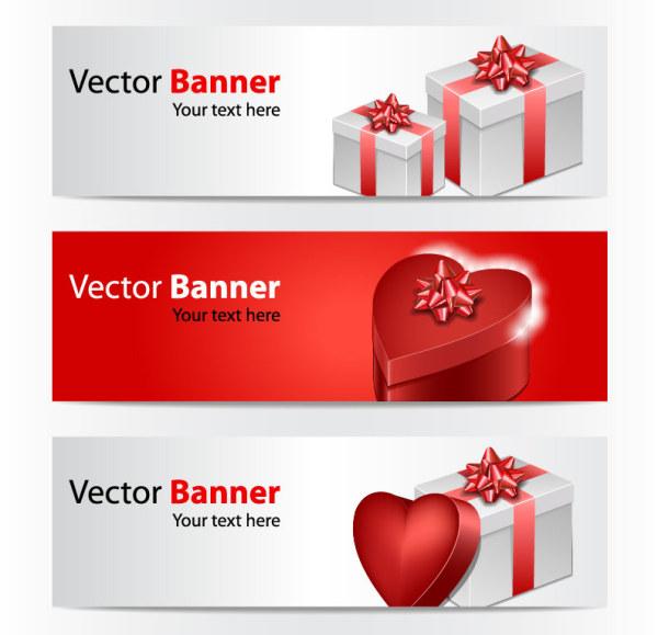 valentine-gift-box-banner-vector
