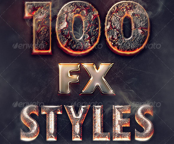 100-layer-styles-bundle-text-effects-set