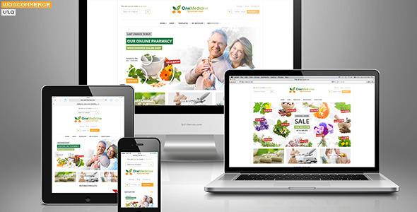 123Medicine eCommerce WordPress Theme