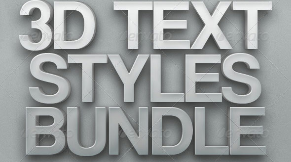 3d-text-styles-bundle