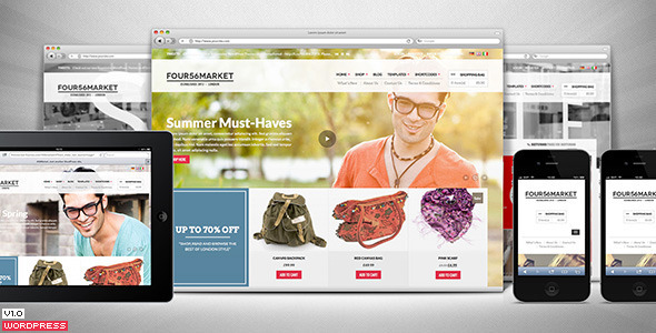 456Market eCommerce WordPress Theme