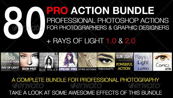80-premium-actions-set-rays-of-light-bundle