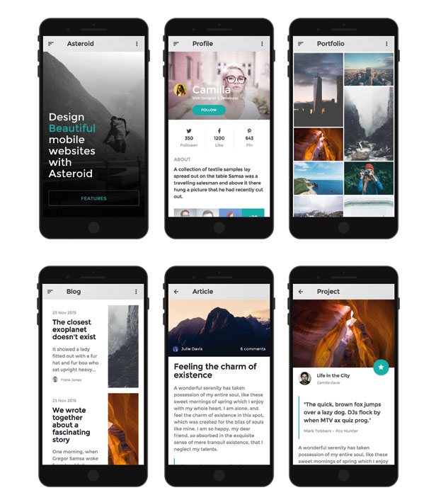 Asteroid-Mobile-App-HTML-Template