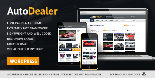 Auto Dealer - Car Dealer WordPress Theme