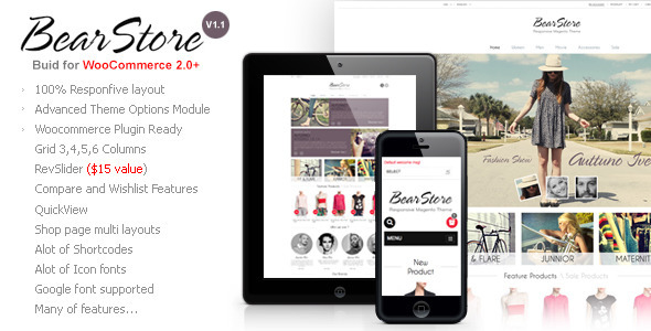 BearStore - Multipurpose Ecommerce Theme