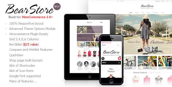BearStore - Multipurpose Ecommerce Theme