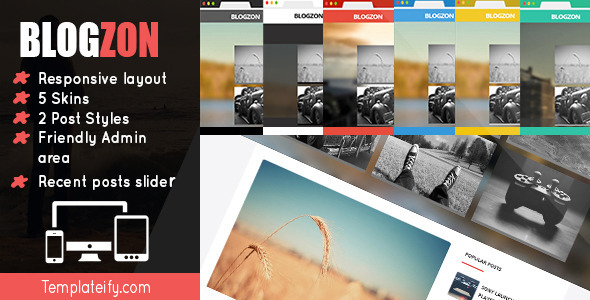 Blogzon-Responsive and Multipurpose Template