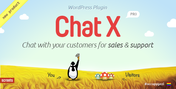 Chat X - WordPress Chat plugin for Sales & Support