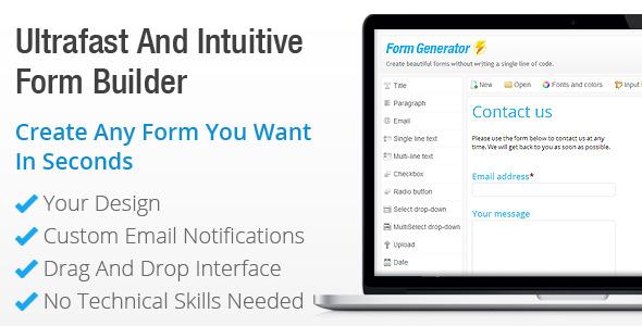 Contact Form Generator - Form Builder