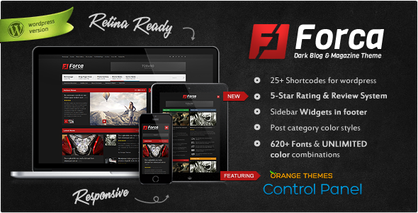 Forca - Responsive News-Magazine Theme