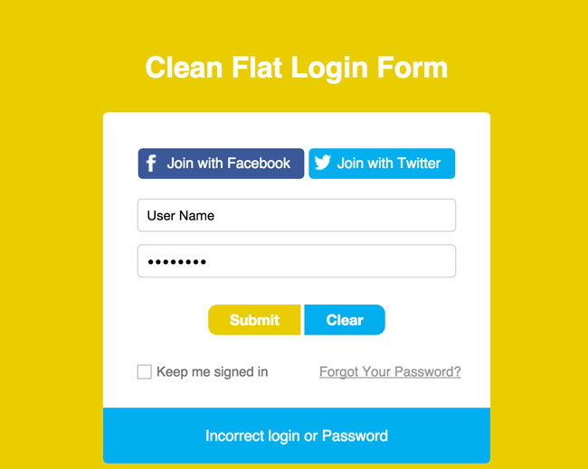 Free-Responsive-Flat-and-Clean-Login-Form-Template