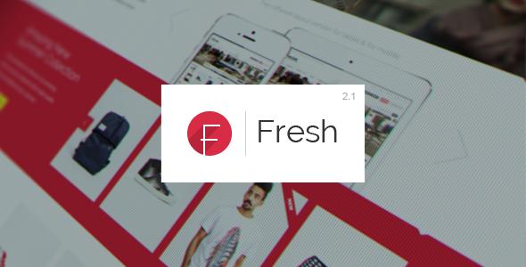 Fresh - Responsive Magento Theme