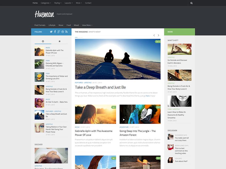 Hueman - Responsive Themes