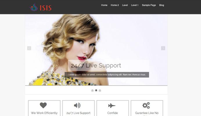 Isis - Responsive Magazine Themes
