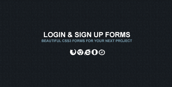 Login & Sign Up Forms