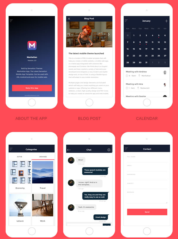 Manhattan-Modern-HTML-Mobile-App-Template