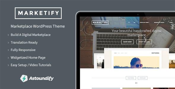 Marketify - Marketplace WordPress Theme