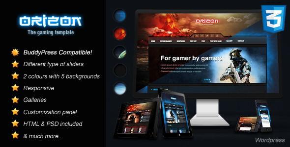 25+ Awesome Gaming WordPress Themes 20116 - DesignMaz