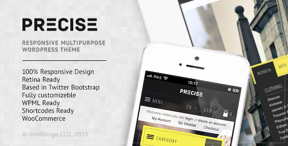 Precise-Multipurpose Responsive WordPress Theme