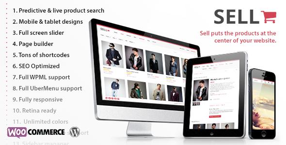 Sell- Responsive eCommerce WordPress Theme