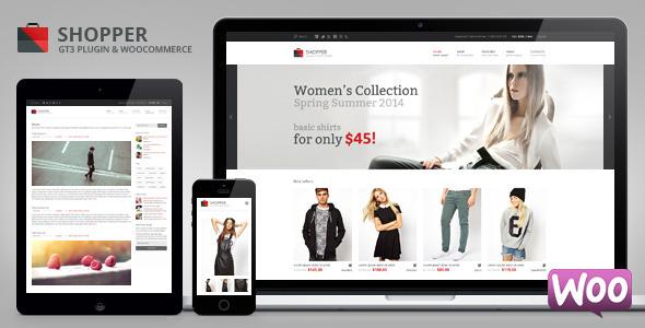 Shopper Multi-Purpose Woocommerce WordPress Theme