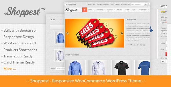 Shoppest - Responsive WooCommerce WordPress Theme