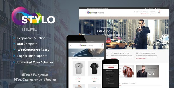 Stylo - Multi-Purpose WooCommerce Theme