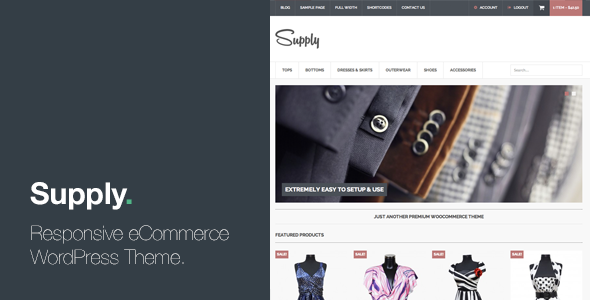 Supply - Responsive eCommerce WordPress Theme