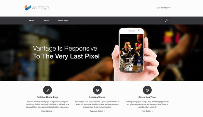 Vantage - Responsive Magazine Themes