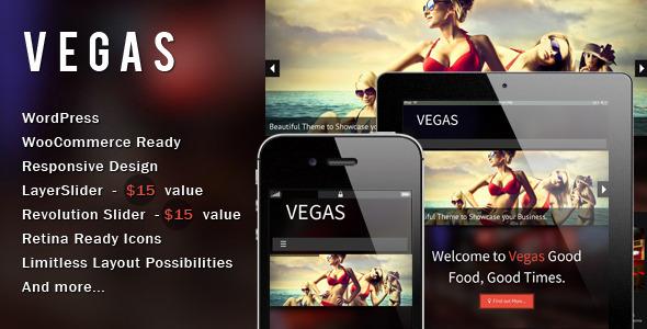 Vegas - Responsive WordPress Theme