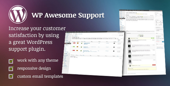WP Awesome Support - Responsive Ticket System