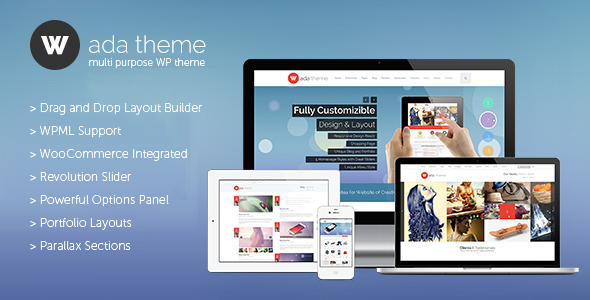 Wada – Multi Purpose WordPress Theme