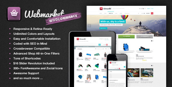 Webmarket - WP WooCommerce Theme for Online Shop