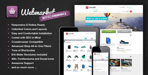 Webmarket - WP WooCommerce Theme for Online Shop