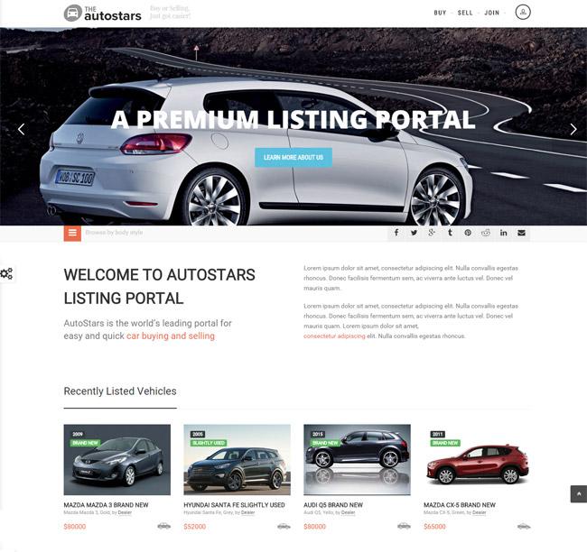 15+ Best Responsive Car Dealer WordPress Themes - DesignMaz