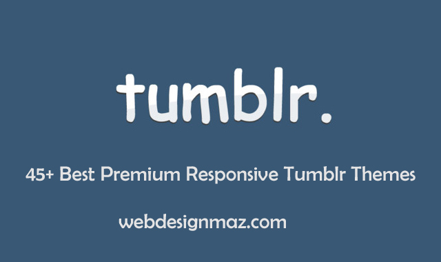 Best Premium Responsive Tumblr Themes