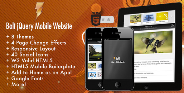 bolt-jquery-mobile-website