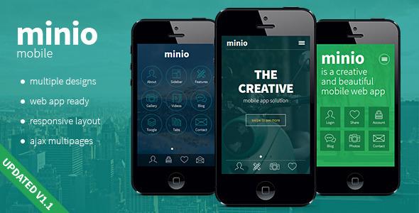 minio-html-mobile-template