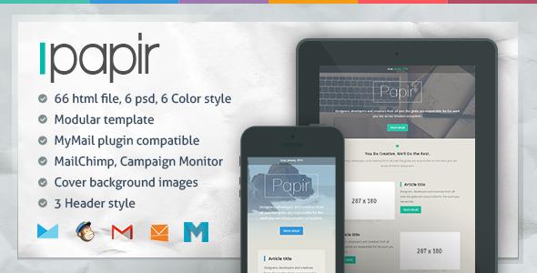 papir-responsive-email-template