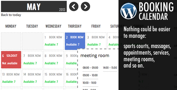 Calendar Booking Plugin Wordpress : Best wordpress booking calendar plugins designmaz