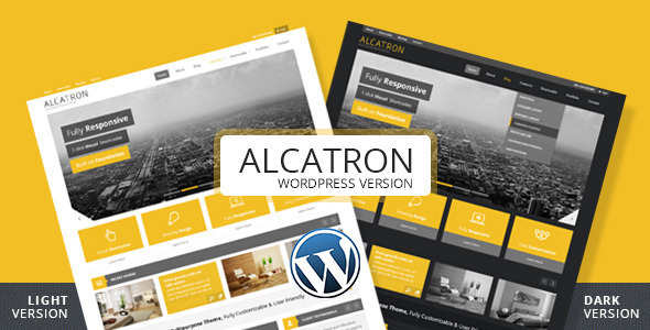 Alcatron - Multipurpose Responsive WP Theme